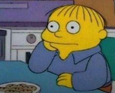 Simpsons Meme, Simpsons Art, Cute Memes, Dankest Memes, Funny Memes, Cartoon Icons, Cartoon Memes, Stupid Pictures, Funny Pictures