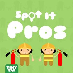 Can you Spot It? Learn about what professions different people do in this entertaining spot the difference game.