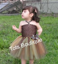 I can see Natashia wearing something like this camoflauge Tutu Dress!!!  (except she'd be MUCH cutier)
