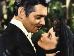 Gone With The Wind TRIVIA: In this scene from the bazaar to raise money for the hospital, Clark Gable and Vivien Leigh stood on a turning platform that made it appear that they were dancing.