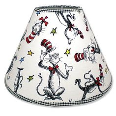 Trend Lab® Dr. Seuss™ The Cat in the Hat™ Lamp Shade