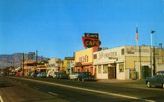 Town of Mojave, California early 1950's - from an old postcard | Flickr - Photo Sharing!
