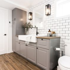 Patenaude project reveal - VALÉRIE DE L'ÉTOILE INTERIOR DESIGNER Decoration, Double Vanity, Inspiration, Home, Bathroom Ideas, Designer, Room, Decorating, Biblical Inspiration