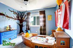 Agreguen imaginación a la decoración del cuarto de su peque.