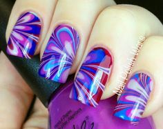 Nail Polish Wars: A Wednesday Water Marble