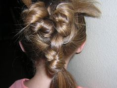 Princess Hairstyles Elastic Wrap Double Hair Bow Hairstyle From Princess Hairstyles