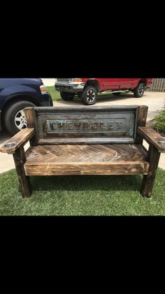 industrial bench diy garage results - ImageSearch Car Part Furniture, Automotive Furniture, Automotive Decor, Automotive Engineering, Engineering Jobs, Furniture Dolly, Automotive Tools, Diy Wood Projects, Furniture Projects