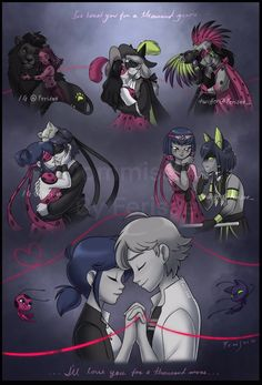 Miraculous Ladybug Kiss, Miraculous Ladybug Fanfiction, Miraculous Characters, Meraculous Ladybug, Ladybug Comics, Lady Bug, Cute Cartoon, Cartoon Art, Ladybug Und Cat Noir