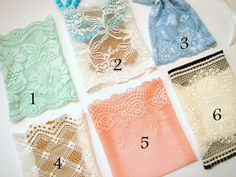 Jewelry Lace BagsHandmade Bags by LiKeBeads8 on Etsy, $17.00