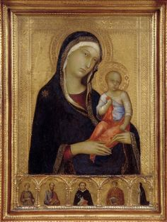 Simone Martini:  Virgin and Child  (Isabella Stewart Gardner Museum, Boston)