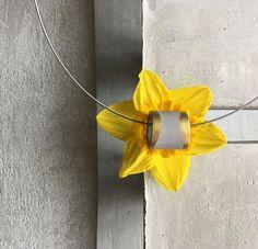 Concrete necklace Sensibility gold