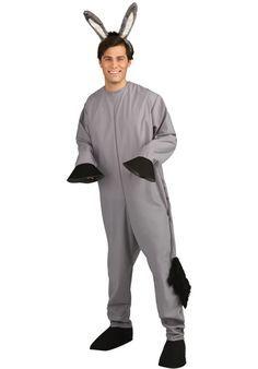 Kids girls /& boys Nativity Donkey  Fancy Dress Costume Removable tail 2-10 years
