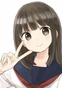 Cute Anime Pics, Anime Girl Cute, Beautiful Anime Girl, Kawaii Anime Girl, Manga Anime Girl, Anime Chibi, Persona Anime, Bakugou Manga, Anime Friendship