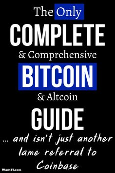 This is a guide created to fill the void left by so many Bitcoin amateurs and beginners who only seek to clog the ecosystem with Coinbase referral links. If you really want to learn about cryptocurrency and all aspects of it, read this guide. Bitcoin Logo, Bitcoin Business, Buy Bitcoin, Cryptocurrency Trading, Bitcoin Cryptocurrency, Free Bitcoin Mining, Bitcoin Generator, Der Handel, Crypto Bitcoin