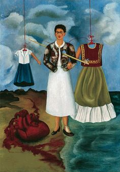 Frida Kahlo: Self-portrait; memory aka the heart, 1937 Frida Kahlo: Self-portrait; memory aka the heart, 1937 Diego Rivera Frida Kahlo, Frida And Diego, Salvador Dali, Frida Paintings, Freida Kahlo Paintings, Women Artist, Frida Kahlo Portraits, Frida Kahlo Artwork, Frida Art