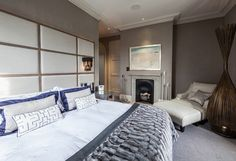 Master Bedroom, Cheshire Vicarage from The Design Practice by Uber