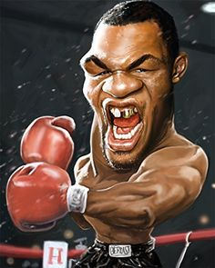 Mike Tyson Caricature Limited Edition on Canvas  Mike Tyson Caricature Limited Edition on Canvas This piece is a signed and numbered limited edition of 20, giclee on canvas. It arrives to you stretched on 1.5 inch museum-quality stretcher bars, ready to hang in your home or office. It is offered with a 100% money-back guarantee, no questions asked. Personalized Certificate of Authenticity included.  http://www.finelifeart.com/mike-tyson-caricature-limited-edition-on-canvas/