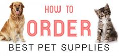How to Buy Best Pet Supplies Online? Best pet supplies can be bought from vets, pharmacies and online sellers. For those looking for branded pet products at least prices then online sellers are the best choice. #petsupplies #pets #buyonline