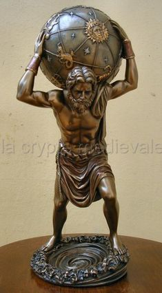 Géant+ATLAS/Mythologie+Grecque/Titan/Zeus/Olympe