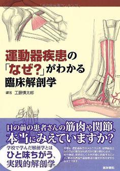 運動器疾患の「なぜ?」がわかる臨床解剖学   工藤慎太郎 http://www.amazon.co.jp/dp/4260014986/ref=cm_sw_r_pi_dp_DmCmvb05E9Y1G