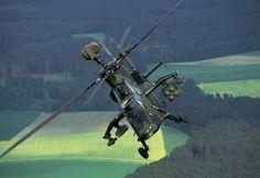 Eurocopter Tiger UHT attack helicopter, German Bundeswehr.