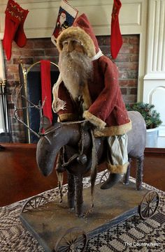 OMG I so need to make this! What about a pull toy christmas theme? LOVE him!!!!