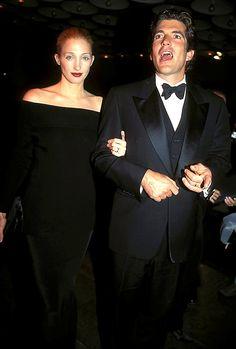 American royalty, Carolyn Bessette Kennedy and John Kennedy Jr.