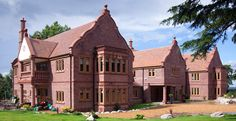 56,000 Marley Acme double camber clay plain #tiles were used on the #roof of the main #house of this Cheshire #selfbuild. #roofing
