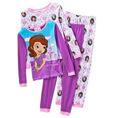 Disney 4-pc. Sofia the First Pajama Set - Girls #kohls #kids
