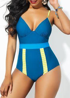 Tueenhuge Womens Stripe Print Sleeveless Zipper Back Long Jumpsuit