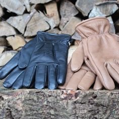 Red Wing Gloves | Black & Blue
