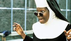 Whoopi in Sister Act 2 - She plays a music teacher who makes a great inpact on the students she teachers.  I hope I inspire and make a different in my students' lives.