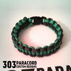 Double Color Cobra Paracord Bracelet