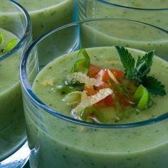 Fiery Cool Cucumber Gazpacho soup