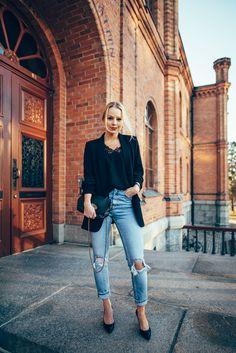 Mom Jeans Outfit - Jonnamaista blog