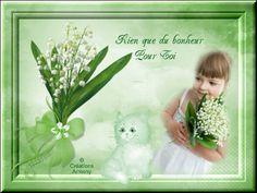 1er Mai Fête du Muguet 2 - Créations Armony Creations, Home Decor, May 1, Animation, Lily Of The Valley, Spring, Decoration Home, Room Decor, Interior Decorating