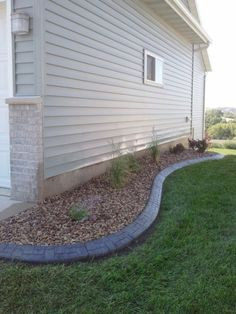 beauty landscaping around house. clever 100 landscaping ideas for front yards and backyards Landscaping Around House, Landscaping With Rocks, Outdoor Landscaping, Outdoor Gardens, Landscaping Ideas, Rock Garden Plants, Lawn And Garden, Rock Flower Beds, Garden Edging