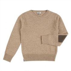 Paul Smith Junior - Boys' Taupe Zebra Logo Knitted Sweater