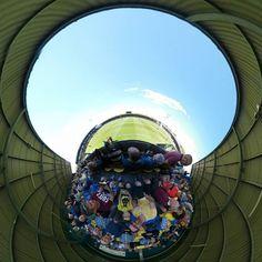 Start of the football season  #torquayunited #torquay #football #soccer #plainmoor #tinyplanet #littleplanet #360photo #360view #lifein360 #instalittleplanet #360camera #360photography #360 #360photo #sphere #travel #photosphere #360panorama #spherical #planet #snapshot #camerafun