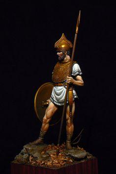 Figurine of Etruscan soldier