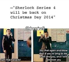 It better be.... or I will burn you, BBC!!!!!!!!!!!!!