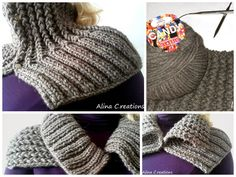 lo spazio di lilla: Scaldacollo ai ferri a punto coste zigzag con Candy Classic di Adriafil e spiegazione / Knitted rickrack stitch neckwarmer with Candy Classic by Adriafil free pattern