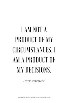 Circumstances do make a difference but ultimately you have the power! Xoxo