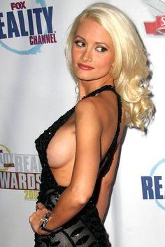 side boob peep show celebrity