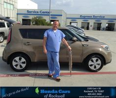 https://flic.kr/p/w56v6u | #HappyAnniversary to David Feigenbutz on your 2014 #Kia #Soul from Frank Sanford  at Honda Cars of Rockwall! | www.hondacarsofrockwall.com/?utm_source=Flickr&utm_me...