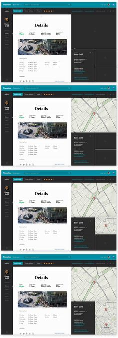 Travelmo by Leigh Taylor, via Behance