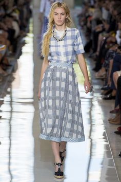 Tory Burch Spring 2013 Ready-to-Wear Fashion Show - Emily Baker