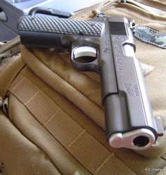 Springfield 1911 #hicappapistol 1911 Pistol, Revolver, Colt 1911, Springfield 1911, Custom 1911, Weapon Of Mass Destruction, Mens Toys, Fire Powers, Home Defense