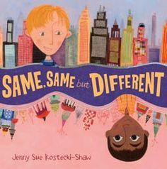 Same, Same But Different, by Jenny Sue Kostecki-Shaw - E/KOS Pen pals Elliott and Kailash discover that even though they live in different countries--America and India--they both love to climb trees, own pets, and ride school buses. Detective, Inclusion Classroom, Similarities And Differences, Cultural Diversity, Cultural Competence, Cultural Identity, Tips & Tricks, Compare And Contrast, Children's Literature