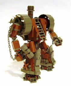 mecha lego steampunk